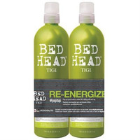 Bed Head Re-Energize Shampoo and Conditioner Duo, 25.36 oz