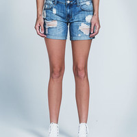 RSQ Soho Womens Denim Boyfriend Shorts | Shorts