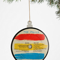 Vinyl Record Ornament  - Urban Outfitters