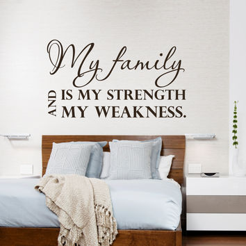 Wall decal quotes home sweet home art from decalsfromdavid on for Living room decor quotes