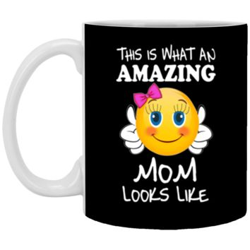Emoji Mom Shirt mothers day gifts for wife from husband - mother's day 11 oz Mug