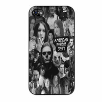 American Horror Story Collage Black White iPhone 4 Case