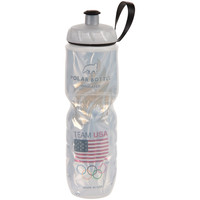 Silver Team USA Flame Bottle