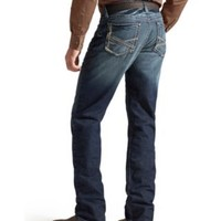 Ariat M3 Slasher Deadwood Relaxed Fit Low Rise Straight Leg Jean