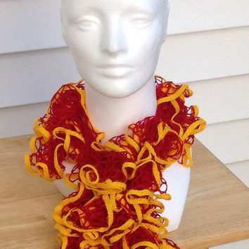 San Francisco 49ers Washington Kansas City Chiefs Ottawa Senators Crocheted Ruffle Sashay Team Spirit Crocheted Scarf