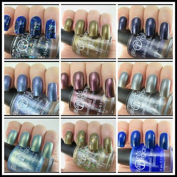 Entire Doctor Who Collection Nail Lacquer - Vegan 3-free Nail Polish