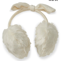 Aeropostale  Bow Earmuffs - Black, One