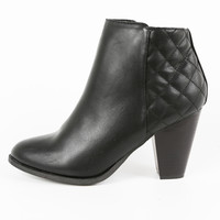 Quilted Southern Ankle Boot