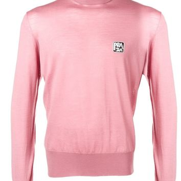 Pink Roll Neck Jumper by Prada