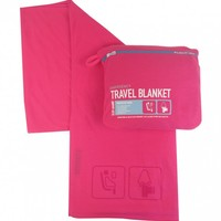 F1 TRAVEL BLANKET PINK
