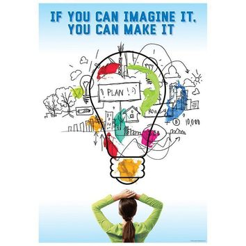 IF YOU CAN IMAGINE IT POSTER