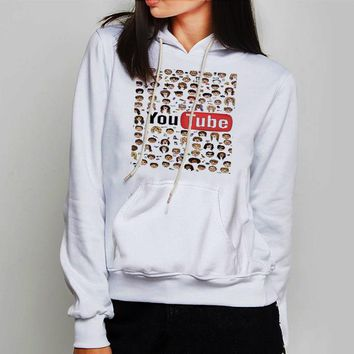Unisex Hoodie Cool Funny Faces Tyler Oakley
