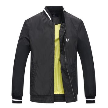 Fred Perry Cardigan Jacket Coat-3