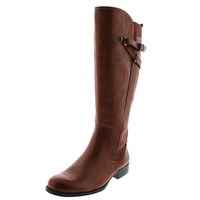 Naturalizer Womens Leather Knee-High Riding Boots