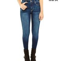 High-Rise Skinny Medium Wash Jean