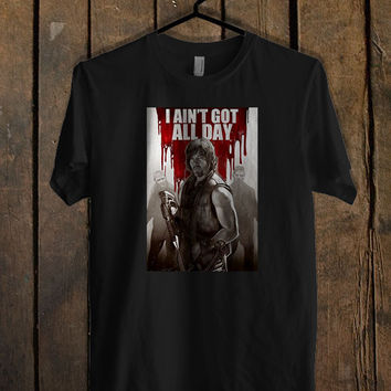 Norman Reedus Daryl Dixon The Walking Dead TV T Shirt Mens T Shirt and Womens T Shirt *