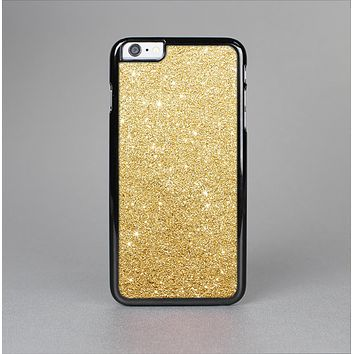 The Gold Glitter Ultra Metallic Skin-Sert Case for the Apple iPhone 6 Plus
