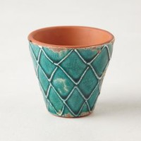 Handpainted Windowsill Pot by Anthropologie