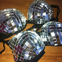 Mirrored Disco Ball Bra - Any Cup Size