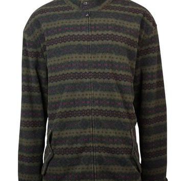 Polo Ralph Lauren Men's Big & Tall Printed Fleece Jacket