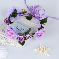 Shades of Lavender - Whimsy Flower Crown
