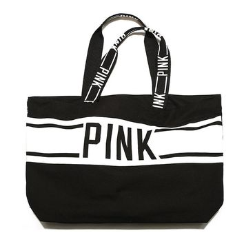 VS Pink Canvas Tote Bag Limited Edition