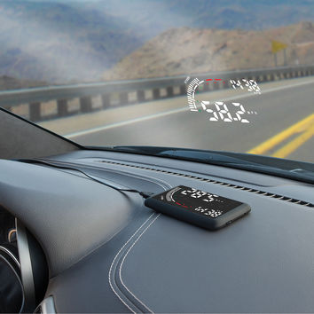 The Windshield Heads Up Display