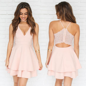 J'adore Skater Dress In Pink