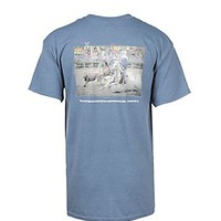 Men's Blue Two are Better Than One Blue Short Sleeve T-Shirt