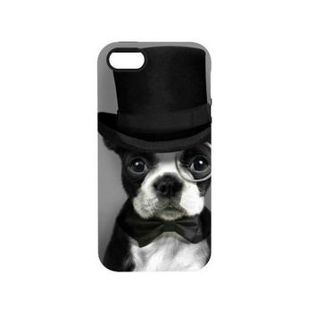 Cute  Hipster Puppy iPhone case 5/5S iPhone 6 and iPhone 6+ tumblr
