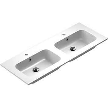 Sonia EVOLVE Washbasin 48 inches Double Drop-In Rectangular MX3 Bathroom Sink