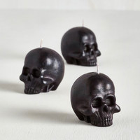 Skulls A Light Idea Candle Set by ModCloth