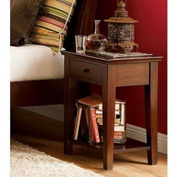 Valencia Rectangular Bedside Table | Pottery Barn