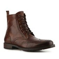 Aston Grey Cable Wingtip Boot