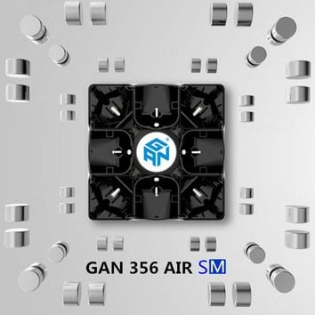GAN 356 Air SM with magnets puzzle magic speed cube professional gans cubo magico Gan356 AirSM version toys drop shipping