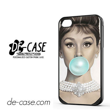 Tiffany Blue Buble Gum DEAL-11232 Apple Phonecase Cover For Iphone 4 / Iphone 4S