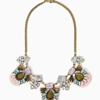 Riva Cluster Necklace – Fashion Jewelry | charming charlie