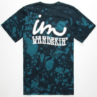Imperial Motion Im Wanderin Mens T-Shirt Blue Combo  In Sizes