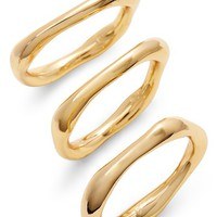 gorjana Quinn Set of 3 Rings | Nordstrom