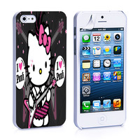 Hello Kitty Punk iPhone 4s iPhone 5 iPhone 5s iPhone 6 case, Galaxy S3 Galaxy S4 Galaxy S5 Note 3 Note 4 case, iPod 4 5 Case