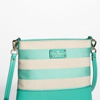 kate spade new york 'grove court stripe - cora' crossbody bag | Nordstrom