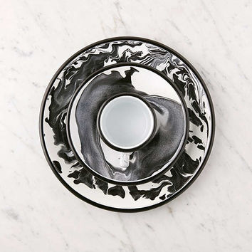 BORNN Marble Enamelware Dinner Plate | Urban Outfitters