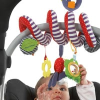 2016 NEW Infant Toys Baby Crib Revolves Around The Stroller Playing Toy Crib Lathe Hanging Baby Stroller Hanging Accesaries