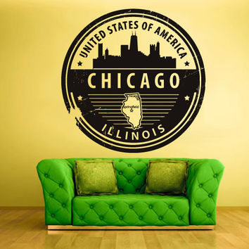 Best Chicago Wall Decor Products on Wanelo