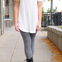 Legs for Days Leggings - Grey