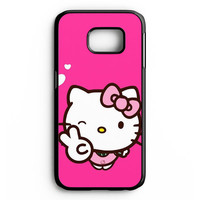 Hello Kitty Girl Samsung Galaxy S6 Edge Case