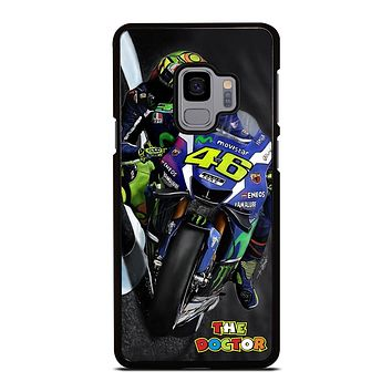 MOTO GP ROSSI THE DOCTOR STYLE Samsung Galaxy S9 Case