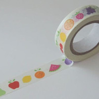 Washi Tape - Fruit 11yards WT629