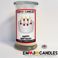 Happy Birthday! - Emoji Candles