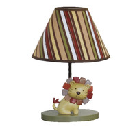 CoCaLo Baby  Nali Jungle Lion Baby Boy Lamp with Shade
